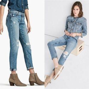 Lucky Brand Sienna Slim Boyfriend Bixel Blue Jeans